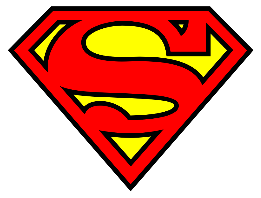 Superman Name Logo